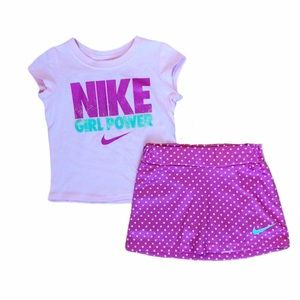 NWT Nike scooter skirt outfit
